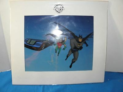 Rare Batman & Robin Sericel Warner Bros. Gallery With Coa. 421/5000