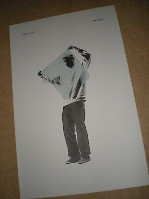 POSTER by TORO Y MOI boo boo For the release tour album cd promo lithograph *