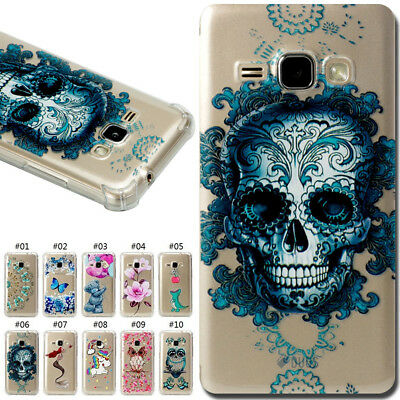 For Samsung Galaxy Slim Back Silicone Protected TPU Soft Fashion Skin Case Cover