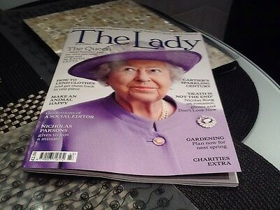 The Lady magazine 24th Oct 2014 The Queen, Cartier's Century, Lend Clothes &