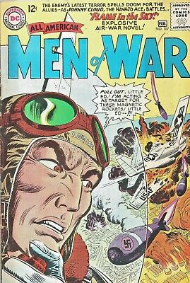 All American Men Of War #107  Johnny Cloud  Navjo Ace  Dc Silver-Age 1965 Nice!!