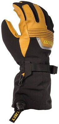 Klim Fusion Snow Snowmobile Gloves (Pair) Brown Adult All Sizes