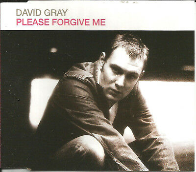 DAVID GRAY Please Forgive me EDIT & REMIX & LIVE & VIDEO CD Single SEALED 2000