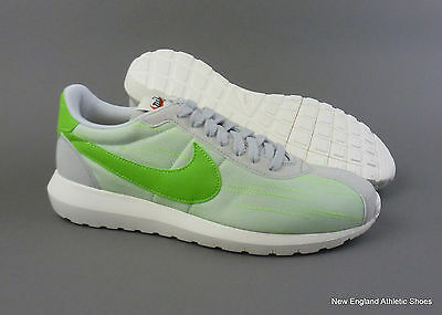 designer fashion 7b1b7 96107 Nike women s Roshe LD-1000 casual shoes sneakers Pure Platinum Electric  Green
