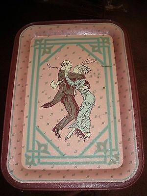 1983 First Edition Armstrong Carpet Collector's Series Metal Tray Advertising (M