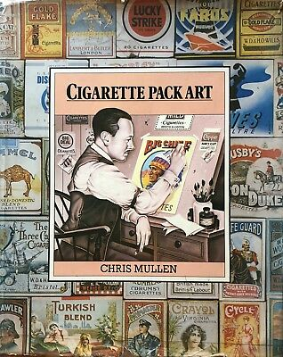 Chris Mullen Cigarette Pack Art Hamlyn 1979