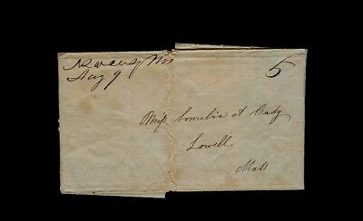 North Swansey MA 3pg 1840s letter from sister to Miss Somelia Cady in Lowell MA