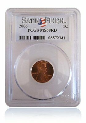 PCGS MS68 RD 2006-P Lincoln Cent Penny Satin Finish Gem Uncirculated 1C