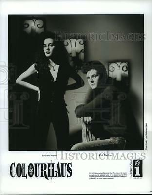"1992 Press Photo `Sherrie Krenn, Phil Radford- ""Colorhaus"" - spp39165"