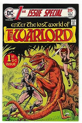 1st ISSUE SPECIAL #8 (NM-) 1st WARLORD! Mike Grell Art! 1975 DC Bronze-Age