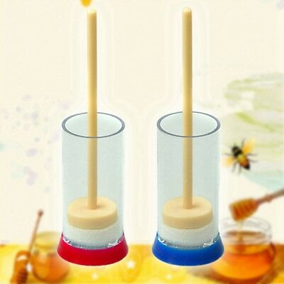 Newly Bee Queen Marking Marker Cage Bottle Plunger push Beekeeping Beekeeper 1pc