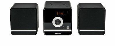 MEDION LIFE P64102 MD 84497 Micro-Audio-System CD/MP3 USB FM Radio 2x 50 Watt