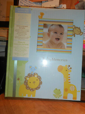 New C.R. Gibson Keepsake Baby Memory Book Stepping Stones NEW
