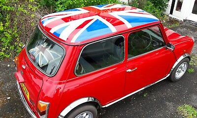 Show Stopping Classic Red Mini Mayfair 1993 Automatic