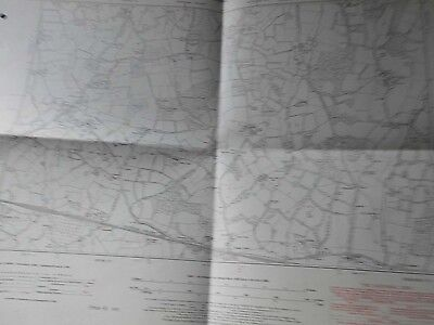 "Four Elms:kent:os Land Register Map:land Now Under Bough Beech Reservoir:6""Scale"