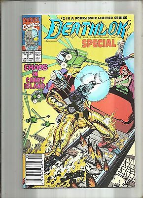 Deathlok Special #2  Nick Fury  Marvel Giant-Size 1991 Nice!!!
