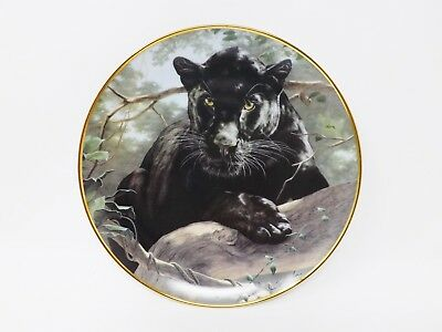 "The Franklin Mint ""Silent Watch"" Collectible Plate - National Wildlife Fed."