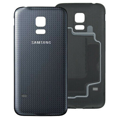 Battery Cover Charcoal Black For Samsung Galaxy S5 Mini G800F Original Part