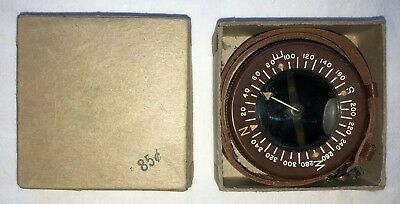 Original WWII US Army Paratrooper Wrist Watch, Band & Box NOS Un-issued
