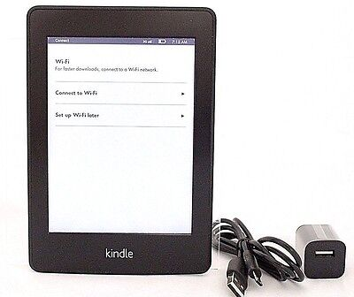 Amazon Kindle Paperwhite, 1st Generation, Wi-Fi + 3G - Black  50-2A