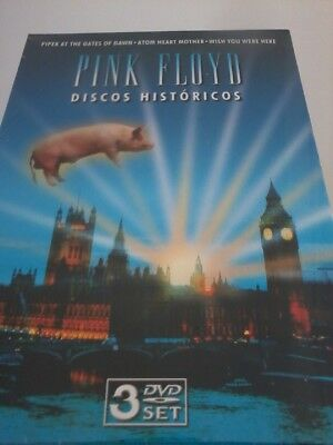 PINK FLOYD 3-Disc DVD Set 2006 NEW Critical Reviews Piper/Atom/Wish POST FREE