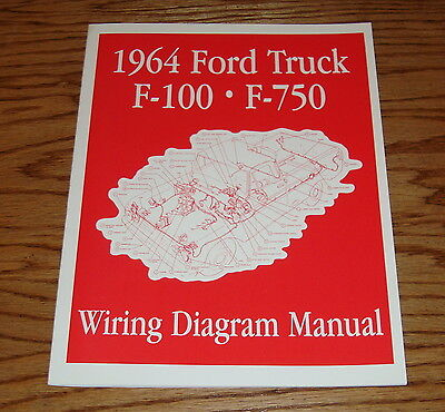 1964 64 ford truck f100 radio face plate trim bezel 80 00 picclick 1964 ford truck f100 f750 wiring diagram manual brochure 64