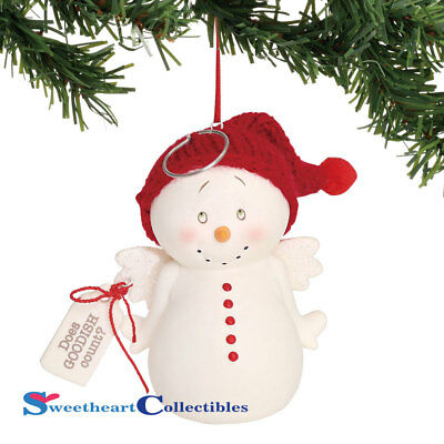 Department 56 Snowpinions 6000939 Does Goodish Count Ornament 2018