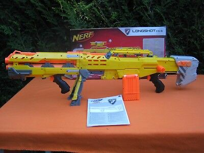 Nerf N-Strike Longshot CS6 - 2 in 1 Gun