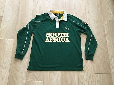 South Africa Rugby Shirt, Adult Small