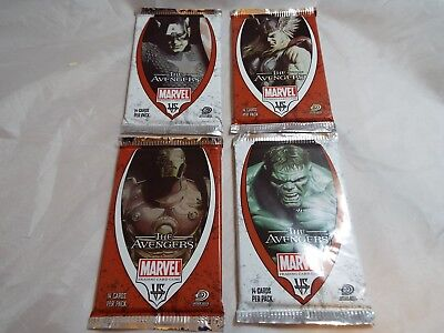 Vs System The Avengers Sealed Booster Pack