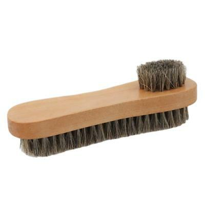 2-side Cleaning Brush Kit Suede Leather Nubuck Shoes Boot Cleaner Stain Dust D