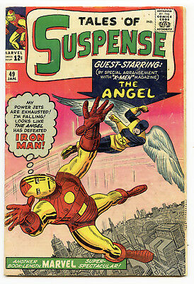 JERRY WEIST ESTATE: TALES OF SUSPENSE #49 (Marvel 1964) Iron Man Ditko