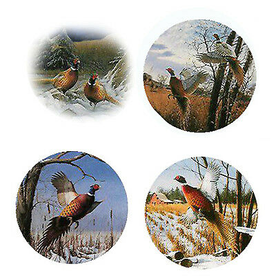 Pheasant Magnets: 4 Cool Pheasants for your Fridge or Collection-A Great Gift
