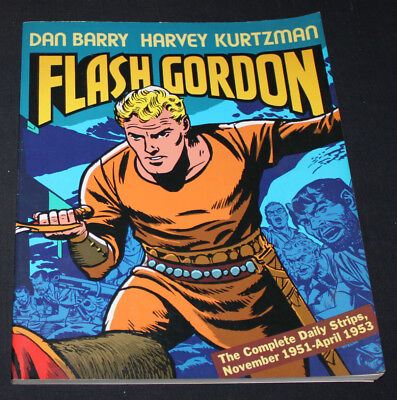 JERRY WEIST ESTATE: FLASH GORDON by Dan Barry & Harvey Kurtzman 1988 pb