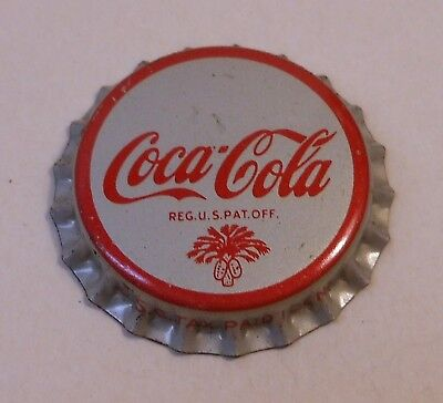 "Vintage Coca Cola ""SC Tax Stamp""..cork..unused..Soda Bottle Cap"