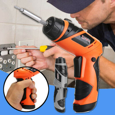 Portable 6V Screwdriver Electric Drill Rechargeable Battery Cordless Wireless