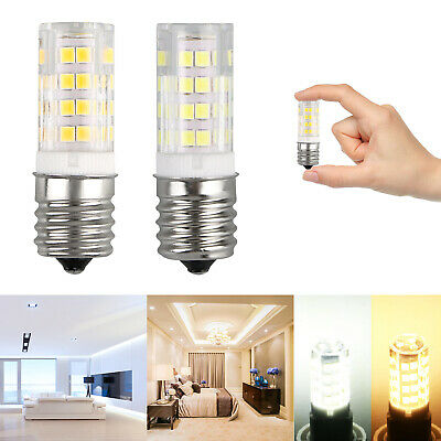 2Pcs Microwave LED Replacement Light Bulb for Appliance E17 Socket 4W Oven Bulbs