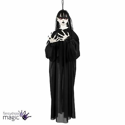 85cm Hanging Haunted Holly Ghost Halloween Spooky Doll Hanging Decoration