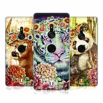 Head Case Designs Floral Animals Hard Back Case For Sony Phones 1