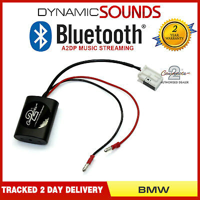 Bluetooth Music Streaming Interface Adapter A2DP AUX Input for BMW X3 X5