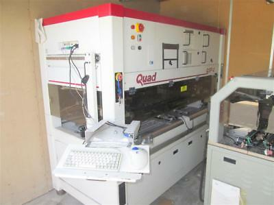Quad QSP-2 SMT Pick and Place Machine Printed Circuit Board Building Very Clean!