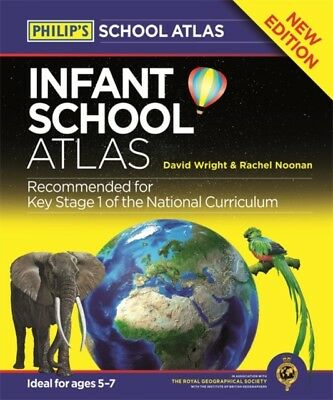 Philip's Infant School Atlas: For 5-7 year olds (Philips School A...