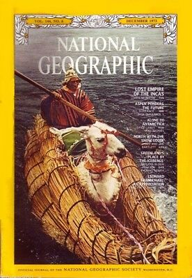 Nat Geographic Dec 1973 Inca Trail Snow Goose Aspen Greenland Antarctica