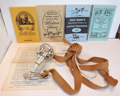 Bridle & Prof Beery's Illust. Courses In Horse Training Riding Breeding 30 Books