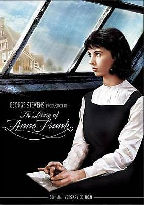 The Diary of Anne Frank (DVD, 2009, 50th Anniversary Edition) New