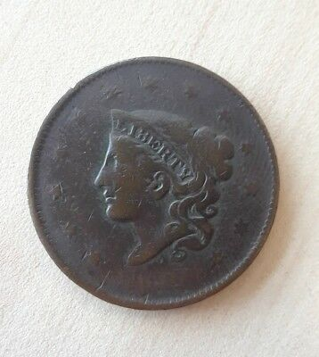 1836 United States LARGE CENT