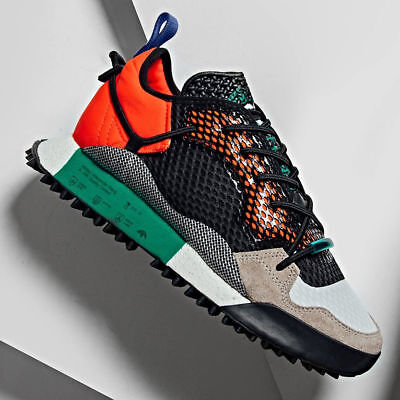 best service ad996 613a8 Adidas Alexander Wang Re-issue Run in Solar Red Core Black Bold Green SS18  Sz
