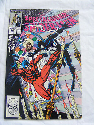 Peter Parker The Spectacular Spider-Man # 137 Apr 88 Marvel Comics