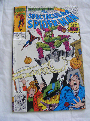 Peter Parker The Spectacular Spider-Man # 184 Jan 92 Marvel Comics