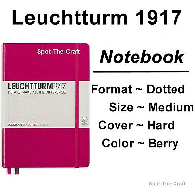 Leuchtturm1917 - Dotted Journal / Notebook - Medium A5 - Berry
